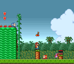 Super Mario All-Stars ingame screenshot