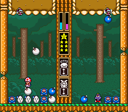 Wario's Woods ingame screenshot