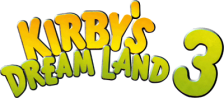 Kirby's Dream Land 3 logo
