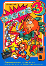 Donkey Kong 3 Coin Op Arcade cover artwork