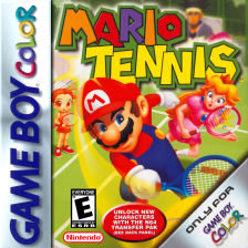 Mario Tennis Nintendo Game Boy Color cover artwork