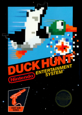 Duck Hunt Nintendo NES cover artwork