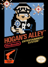 Hogan's Alley Nintendo NES cover artwork