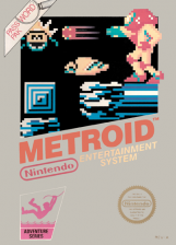 Metroid Nintendo NES cover artwork
