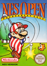 NES Open Tournament Golf Nintendo NES cover artwork