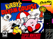 Kirby's Dream Course Nintendo Super NES cover artwork