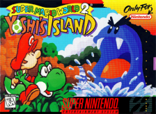 Super Mario World 2 - Yoshi's Island Nintendo Super NES cover artwork