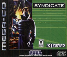 Syndicate Sega CD cover artwork