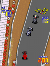 F-1 Grand Prix ingame screenshot