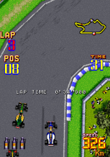 F-1 Grand Prix Part II ingame screenshot