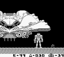 Metroid II - Return of Samus ingame screenshot