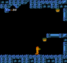 Metroid ingame screenshot