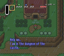 Legend of Zelda, The - A Link to the Past ingame screenshot