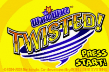 WarioWare - Twisted! title screenshot