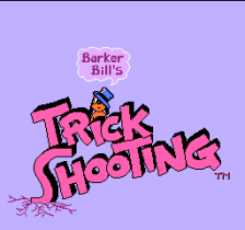 Barker Bill's Trick Shooting title screenshot