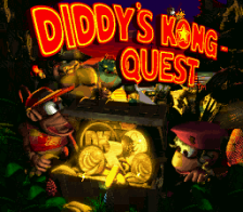 Donkey Kong Country 2 - Diddy's Kong Quest title screenshot