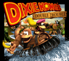 Donkey Kong Country 3 - Dixie Kong's Double Trouble ! title screenshot