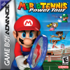 Mario Tennis - Power Tour Nintendo Game Boy Advance cover artwork