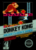 Donkey Kong Nintendo NES cover artwork