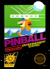 Pinball Nintendo NES cover artwork