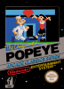 Popeye Nintendo NES cover artwork