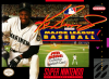 Ken Griffey Jr. Presents Major League Baseball Nintendo Super NES cover artwork
