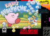Kirby's Avalanche Nintendo Super NES cover artwork