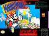Mario Paint Nintendo Super NES cover artwork