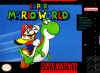 Super Mario World Nintendo Super NES cover artwork