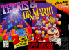 Tetris & Dr. Mario Nintendo Super NES cover artwork