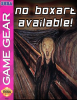 Lost World, The - Jurassic Park Sega Game Gear cover artwork