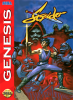 Strider Returns - Journey from Darkness Sega Genesis cover artwork